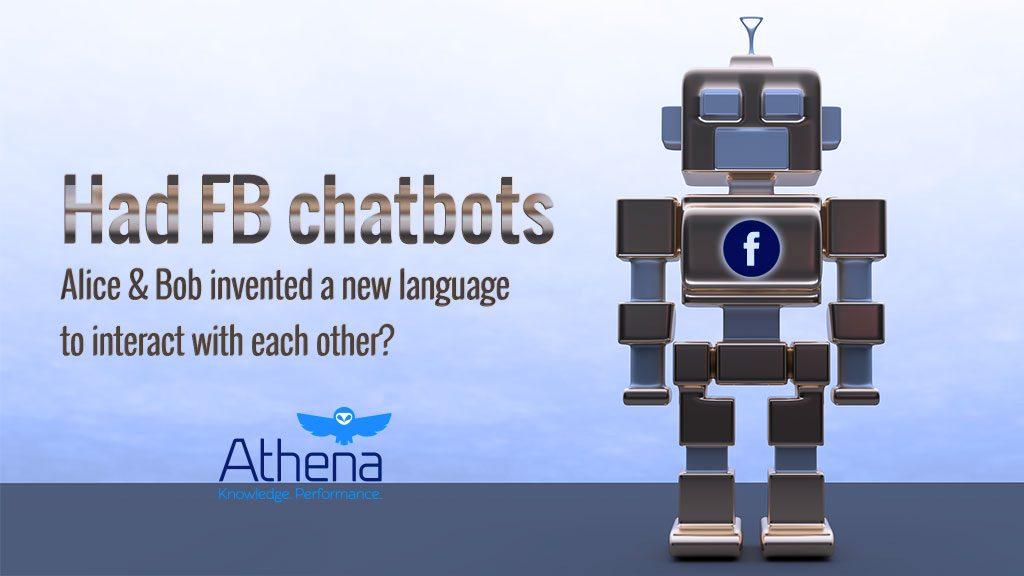 had fb ai chatbots invented new language