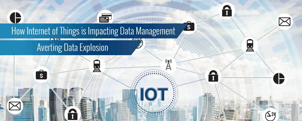 how internet of things impacting data management