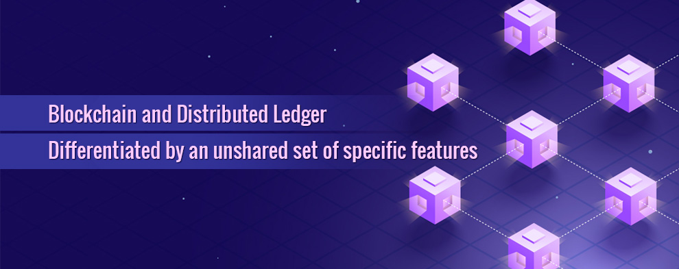 difference between blockchain and distributed ledger